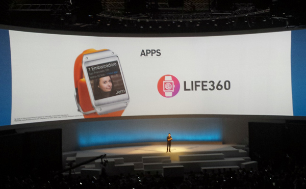 Life360 for Samsung Galaxy Gear – Igor Khrupin